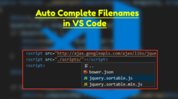 VS Code Plugin to Auto Complete Filenames