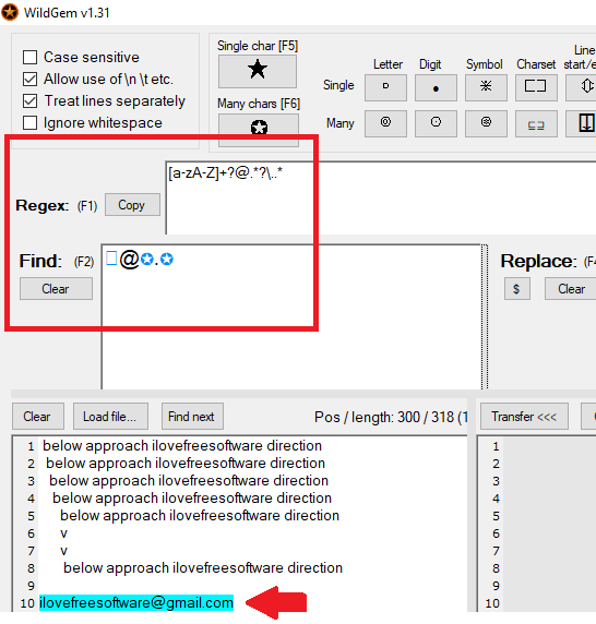 WildGem search query builder