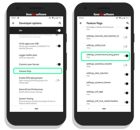 android q native screen recorder