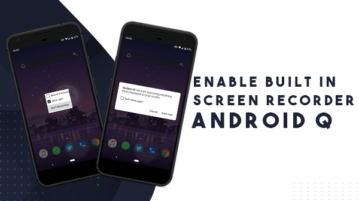 How to Use Native Screen Recorder in Android Q?