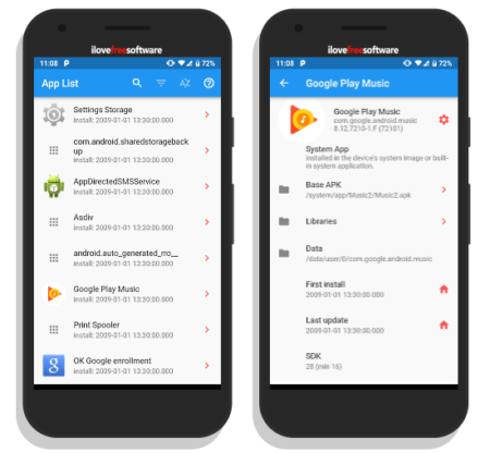 disable system apps on android