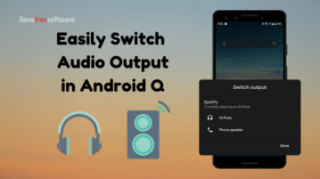 How to Switch Audio Output in Android Q?