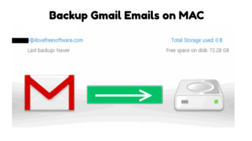 backup Gmail Emails on MAC