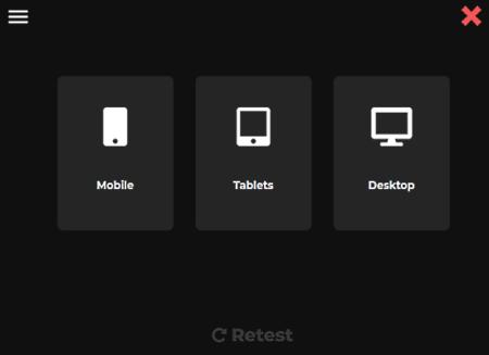 test website across device