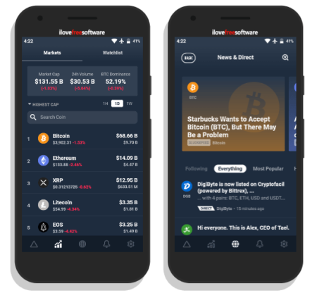 cryptocurrency price tracker app drlta
