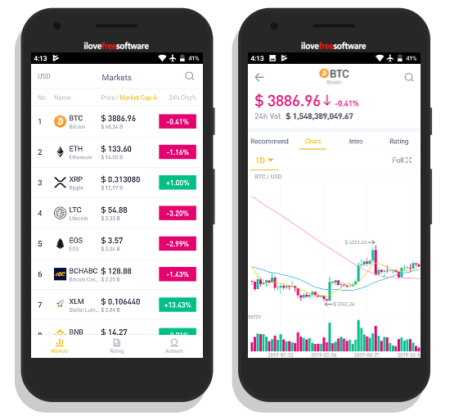 cryptocurrency price tracker app binance info