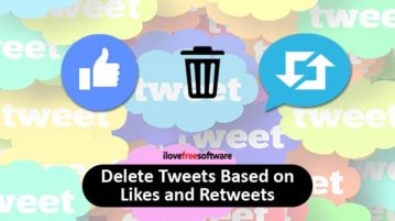 delete tweets based on likes and retweets
