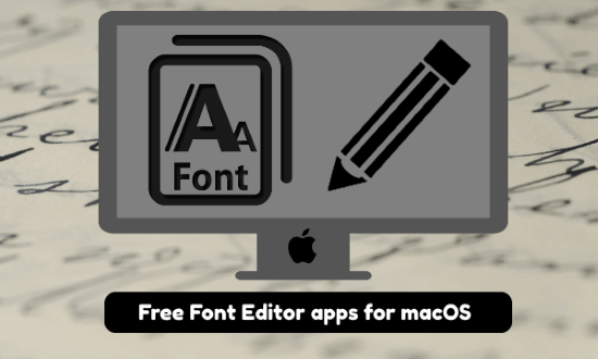 font editor mac apps