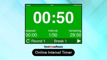 free online interval timer