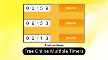 free online multiple timers