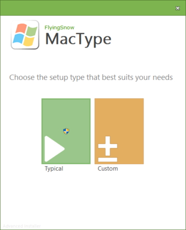 mac font on windows