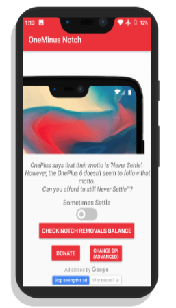 get notch display cutout on any android