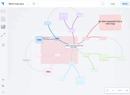 online visual map maker with collaboration