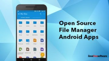 open source file manager android apps