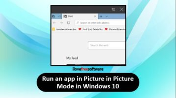 run an app in picture in picture mode windows 10