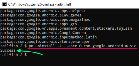 uninstall carrier bloat from Android without root