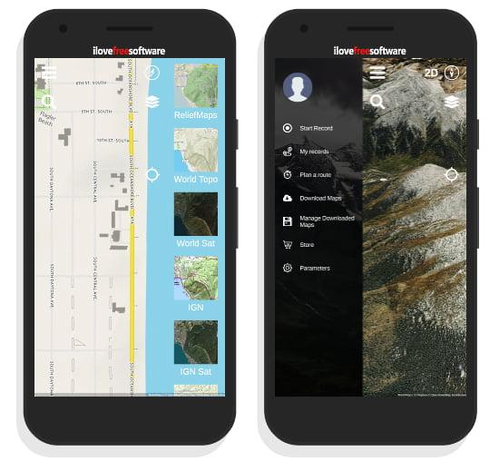 3D GPS Map App