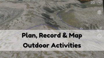 Free 3D GPS App for Mapping Outdoor Activities