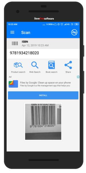 Book Barcode Scanner