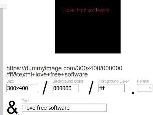 DummyImage website