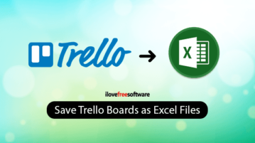 Export Trello Boards to Excel with these Free Tools