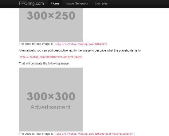 FPOImg.com interface