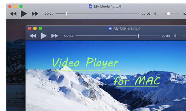 Free MAC Video Player with Dark Mode, Online streaming, PiP