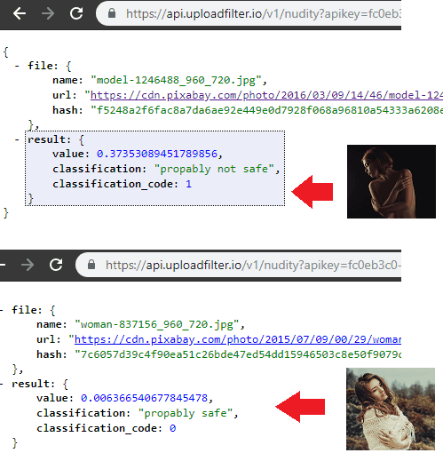 Free NSFW Detection API to Detect Nudity in Images