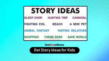 Get Story Ideas for Kids
