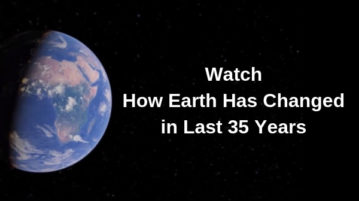 Watch How Earth Has Changed In Last 35 Years using Google Earth Engine
