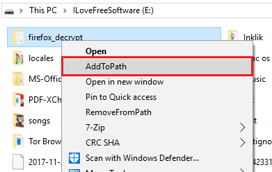 How to Add Any Folder to System PATH from Right Click Menu in Windows