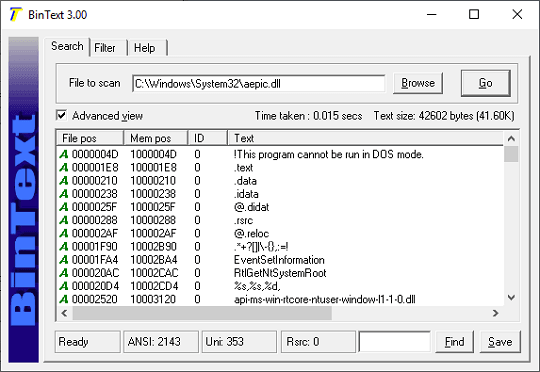 How to Extract Text Strings from Binary Files