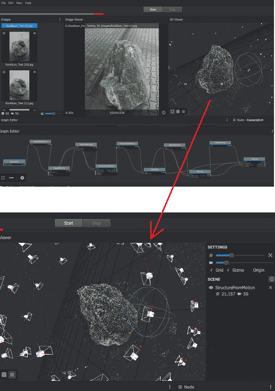 Meshroom 3d reconstruction software