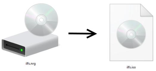 NRG to ISO Converter for windows 10