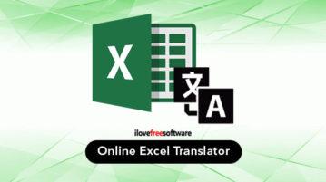 Online Excel Translator