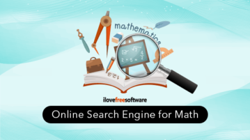Online Search Engine for Math