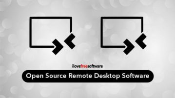 Open Source Remote Desktop Software