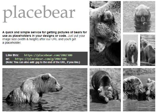 Placebear website