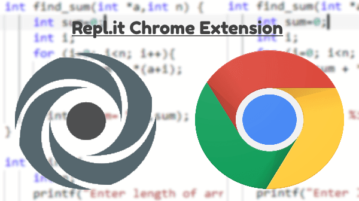 Repl.it Chrome Extension