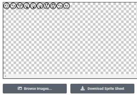 Sprite sheet maker