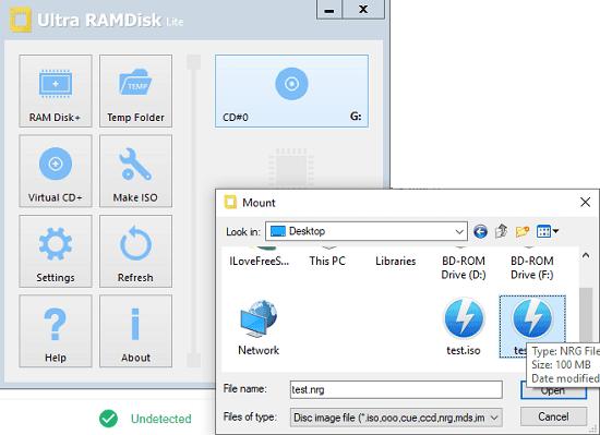Ultra RAMDisk NRG Mounter Free