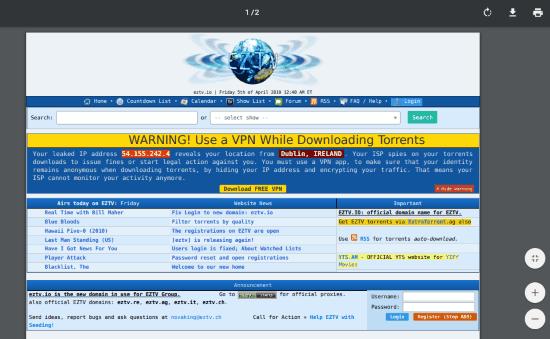 Unblock the blocked website
