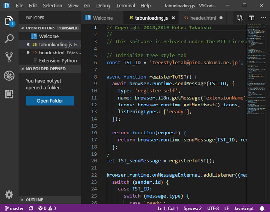 VSCodium VSCode without Microsoft Telemetry and Branding