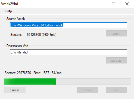 How to Convert VMDK to VHD Disk in Windows Free