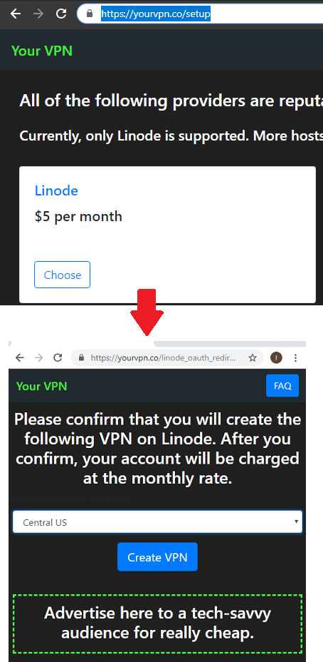 Your VPN Setup on Linode