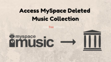Access Deleted Music Collection of MySpace