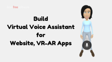 How to Create Virtual Voice Assistant for Website, VR-AR Apps Free?