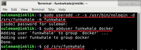 first commands of docker