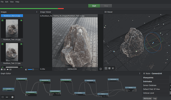 free open source 3d reconstruction software