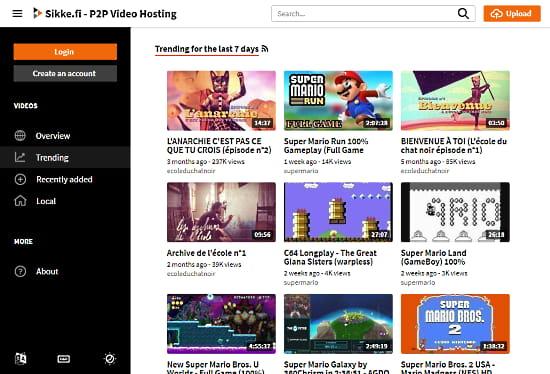 online video hosting free